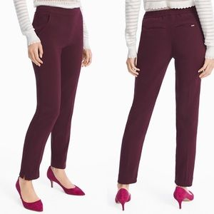 WHBM CREPE RELAXED ANKLE PANTS